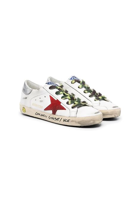 SNEAKERS WITH CAMO LACES GOLDEN GOOSE KIDS | Sneakers | GYF00101 F00115710393