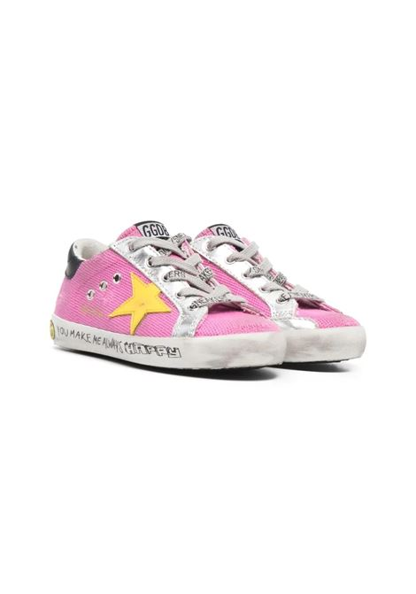 PINK YELLOW STAR SNEAKERS GOLDEN GOOSE KIDS | Sneakers | GYF00101 F00124625552