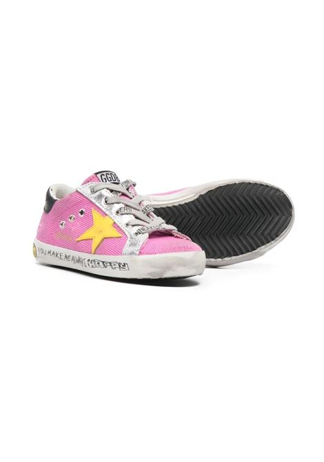 PINK YELLOW STAR SNEAKERS GOLDEN GOOSE KIDS | GYF00101 F00124625552