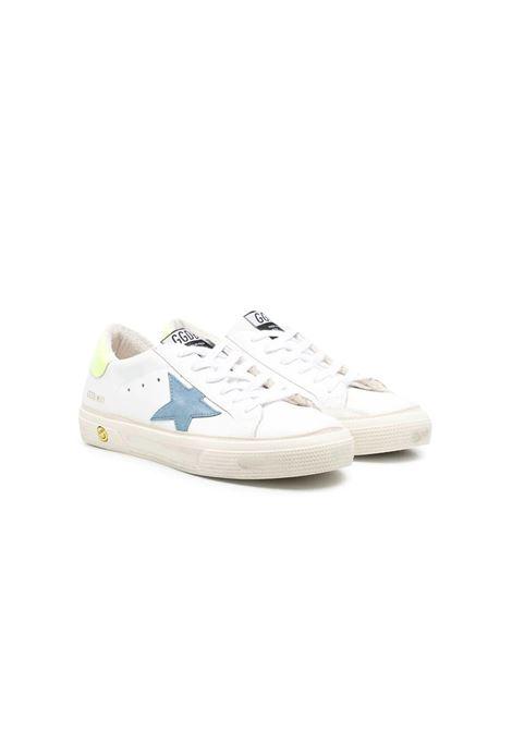 Sneakers stella blu retro giallo GOLDEN GOOSE KIDS | GYF00112 F00116610517