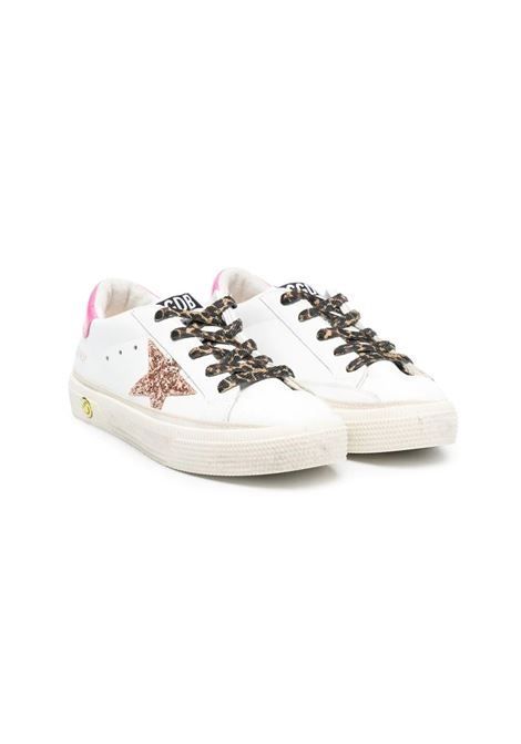 SNEAKERS WITH SPOTTED LACES GOLDEN GOOSE KIDS | Sneakers | GYF00112 F00116710518