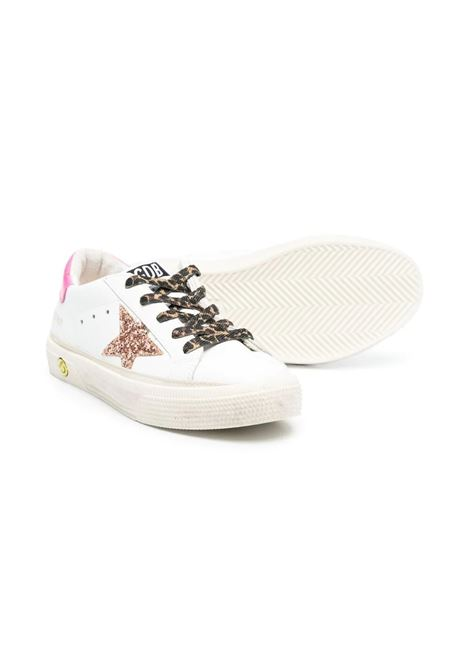 SNEAKERS WITH SPOTTED LACES GOLDEN GOOSE KIDS | GYF00112 F00116710518