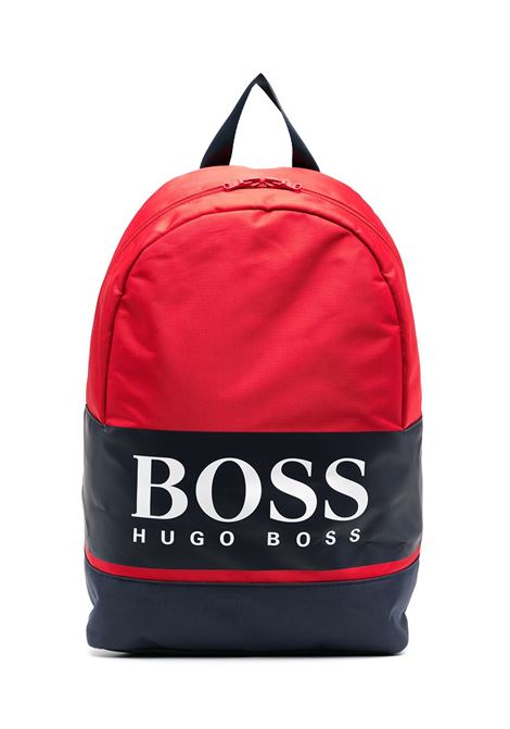 BACKPACK WITH PRINT HUGO BOSS KIDS | Backpack | J20280997