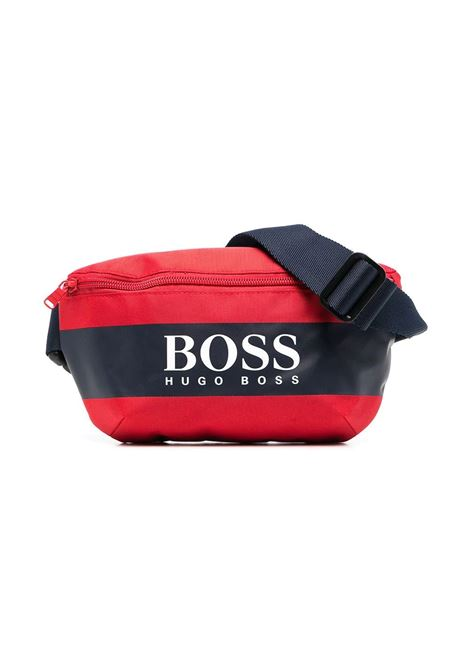 POUCH WITH PRINT HUGO BOSS KIDS | Pouch | J20283997