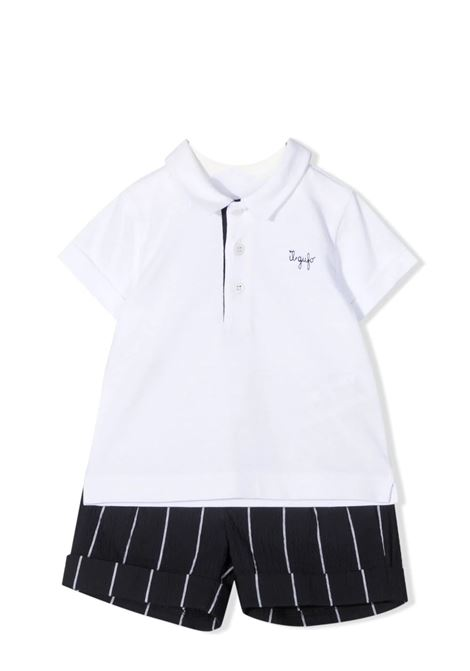 Polo and shorts set IL GUFO | P21DP320C10670149