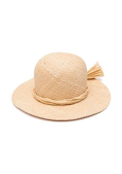 HAT WITH WIDE BRIM IL GUFO | Hats | P21EO306EA301001