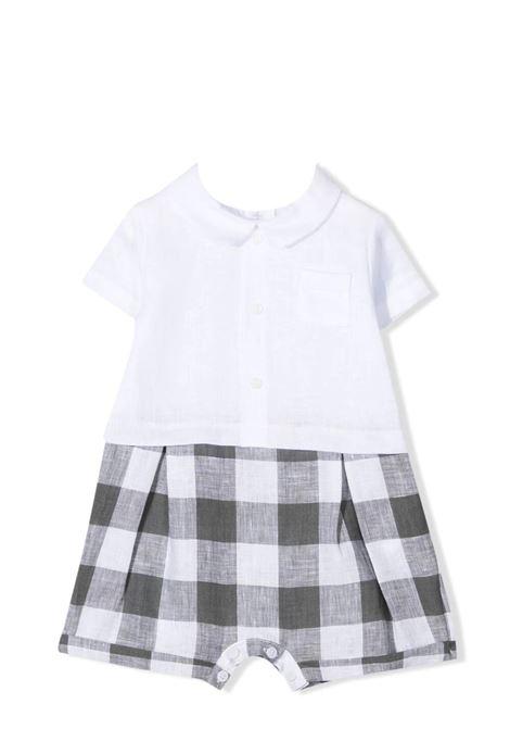 Checkered onesie IL GUFO | P21PQ019L3016080