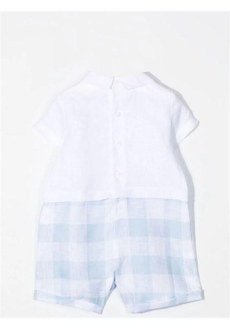 Checkered onesie IL GUFO | P21PQ019L3016417