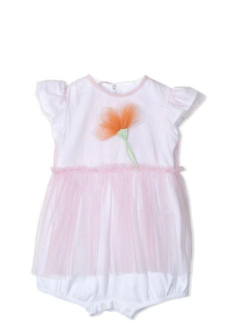 JUMPSUIT WITH TULLE IL GUFO | Newborn jumpsuits | P21TO240H00183127