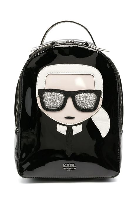 BACKPACK WITH APPLICATIONS  KARL LAGERFELD KIDS | Backpack | Z1009709B