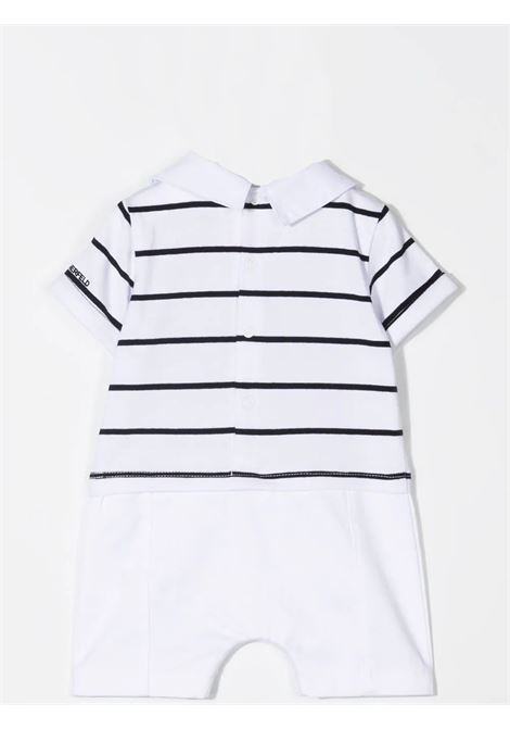 JUMPSUIT WITH STRIPED POLO KARL LAGERFELD KIDS | Z94059N50