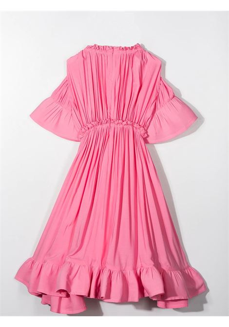 DRESS WITH RUCHES LANVIN KIDS | N1201047F