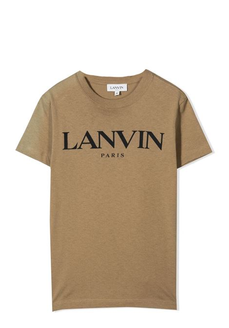 T-SHIRT WITH PRINT LANVIN KIDS | T-shirt | N25024659