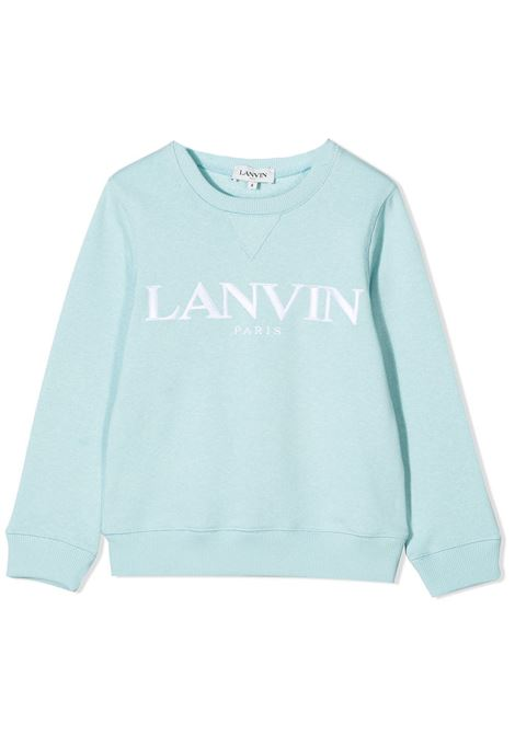 SWEATSHIRT WITH EMBROIDERY LANVIN KIDS | Sweatshirts | N2503477S