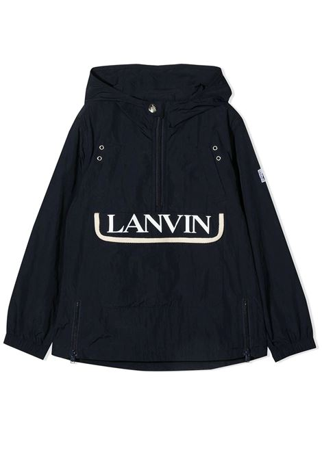 WINDBREAKER WITH PRINT LANVIN KIDS | Jackets | N26007859