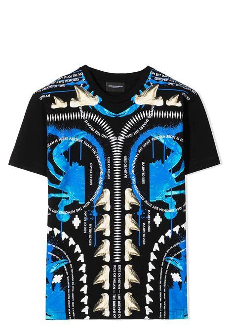 TRIBAL PRINT T-SHIRT  MARCELO BURLON KIDS | T-shirt | 1101 0010TB010