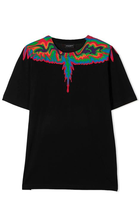 T-SHIRT WITH WINGS PRINT  MARCELO BURLON KIDS | T-shirt | 1106 0010TB010