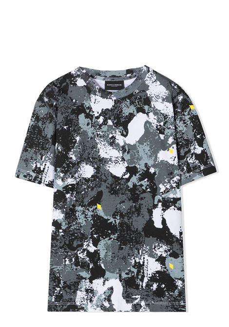 CAMOUFLAGE PRINT T-SHIRT MARCELO BURLON KIDS | T-shirt | 1112 0010B045