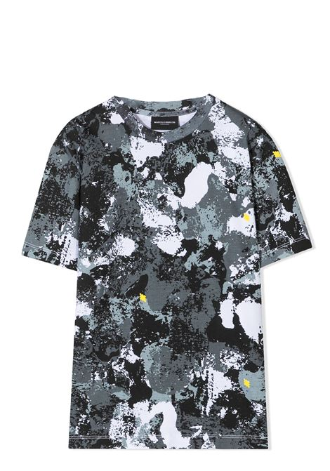 CAMOUFLAGE PRINT T-SHIRT MARCELO BURLON KIDS | T-shirt | 1112 0010TB045