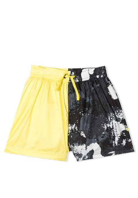 PANELED SWIMSUIT  MARCELO BURLON KIDS | Swimsuits | 8006 5032TB045