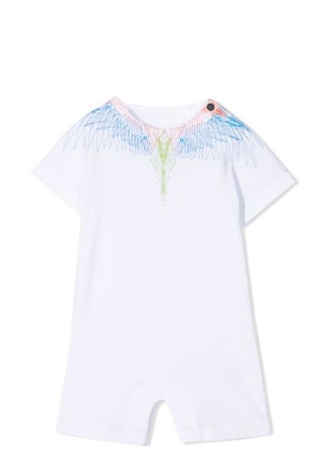 WINGS-PRINT SHORTIES MARCELO BURLON KIDS | Newborn jumpsuits | 8611 0010B000