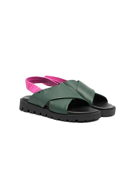 SANDALS WITH BACK STRAP MARNI KIDS | Sandals | 678511
