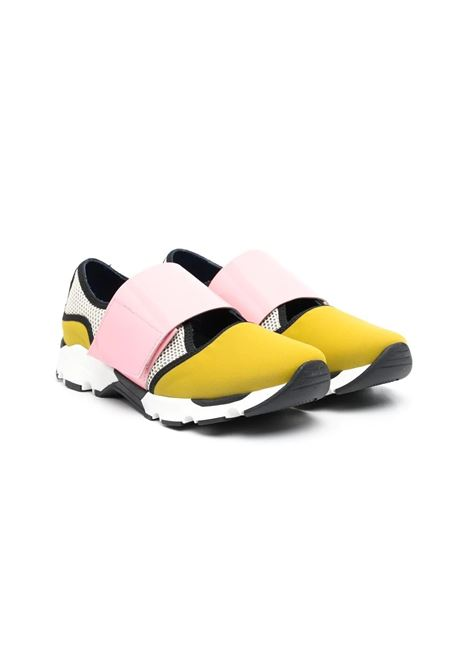 Sneakers bambina con design color-block MARNI KIDS | Ballerine | 678781