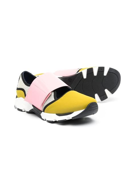 Girl's sneakers with color-block design MARNI KIDS | 678781
