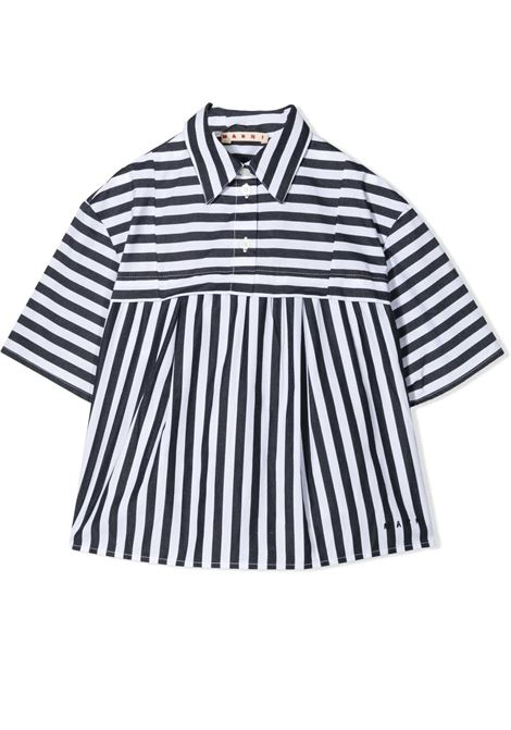 CAMICIA A RIGHE MARNI KIDS | Camicia | MC78F-M00074-M00IS0M803