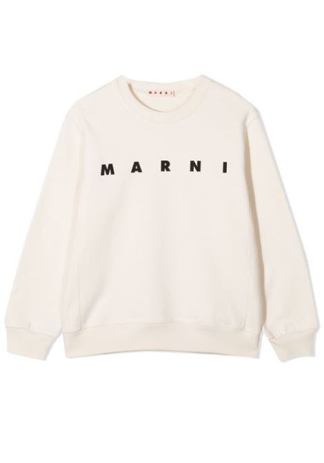 SWEATSHIRT WITH PRINT MARNI KIDS | Sweatshirts | MS17M-M002TP-M00J4T0M101