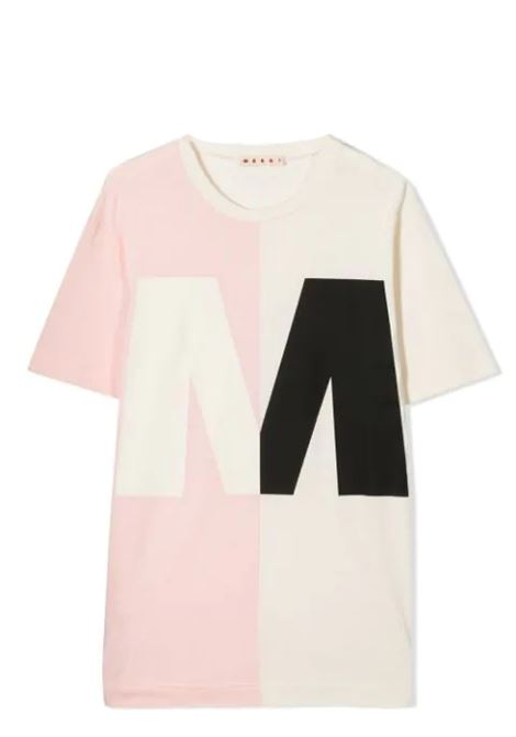 T-SHIRT WITH PRINT MARNI KIDS | T-shirt | MT138U-M00163-M00H7T0M306