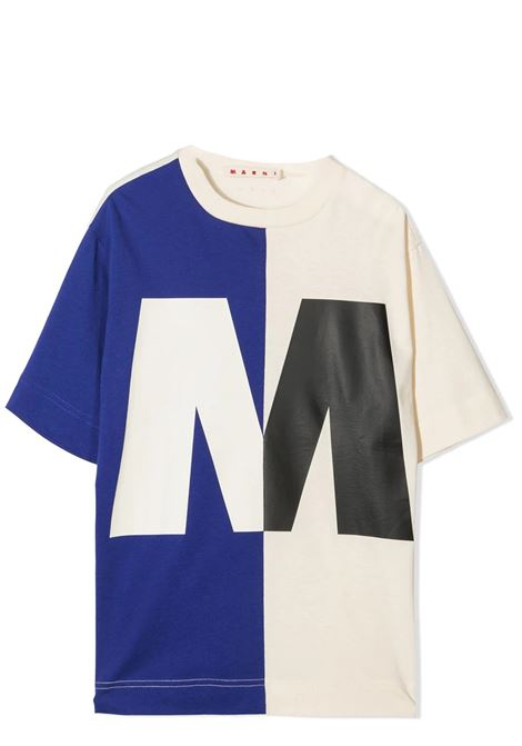 T-SHIRT WITH PRINT MARNI KIDS | T-shirt | MT138U-M00163-M00H7T0M833