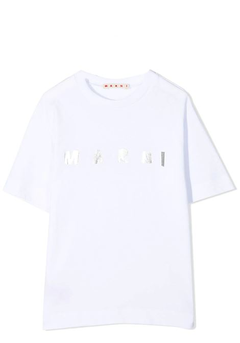 T-SHIRT CON STAMPA MARNI KIDS | T-shirt | MT162F-M00031-M00C70M100