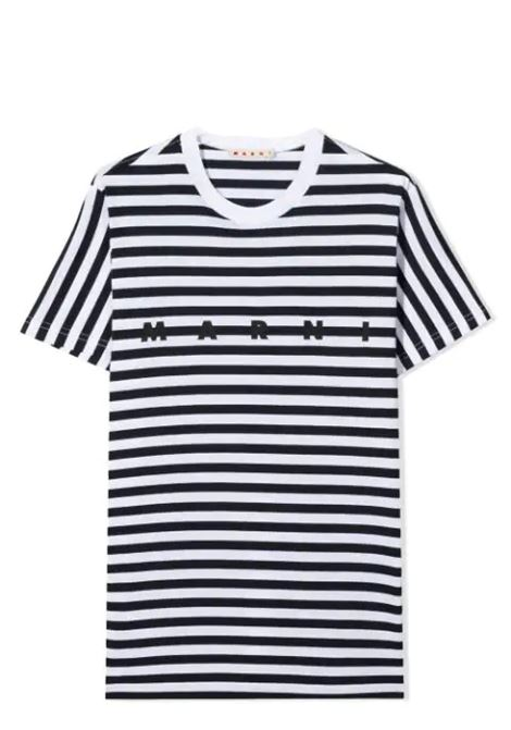 T-SHIRT CON STAMPA MARNI KIDS | T-shirt | MT45M-M00150-M00IU0M803