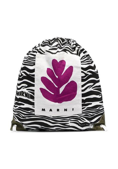 BACKPACK WITH PRINT MARNI KIDS | Backpack | MW50F-M00169-M00HQ0M900