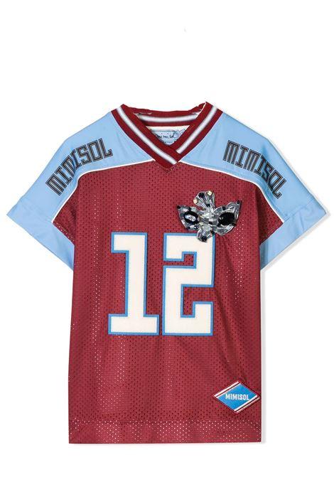 T-shirt bambina con applicazione MIMISOL | 18IMF226ST0402
