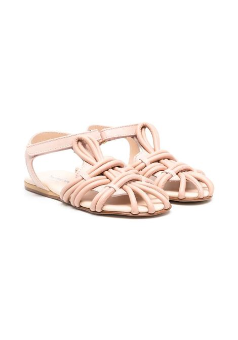 SANDALS WITH CROSSED DETAIL MIMISOL | Sandals | 682761