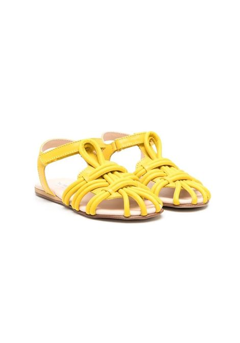 SANDALS WITH CROSSED DETAIL MIMISOL | Sandals | 682763