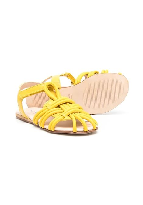 SANDALS WITH CROSSED DETAIL MIMISOL   682763