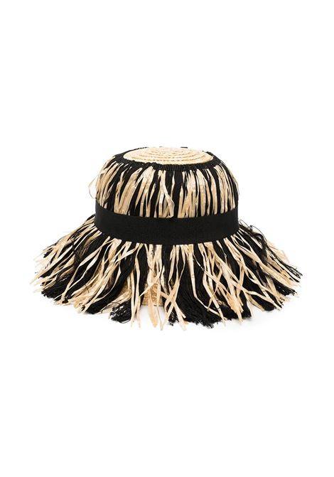 HAT WITH FRINGES MIMISOL | Hats | MACP037 XX0000BGE