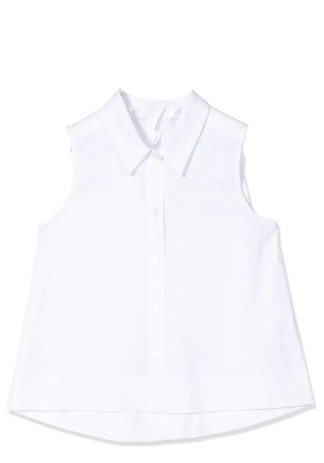 Camicia bambina bianca MIMISOL | MFCA010TS0176