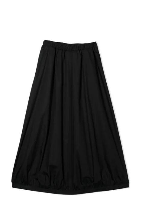 WIDE SKIRT MIMISOL | Skirt | MFGO066 TS0053BLK