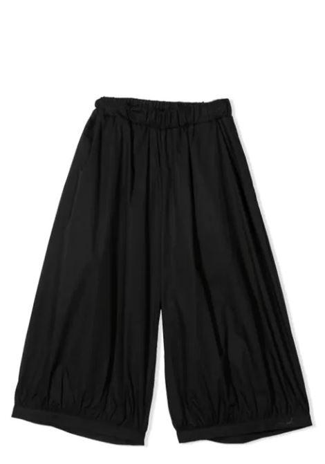 WIDE LEG PANTS MIMISOL | Trousers | MFPA054 TS0053BLK
