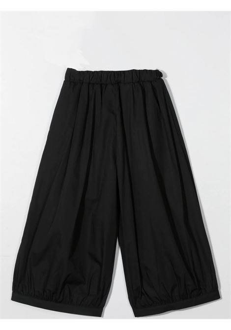 WIDE LEG PANTS MIMISOL | MFPA054 TS0053BLK