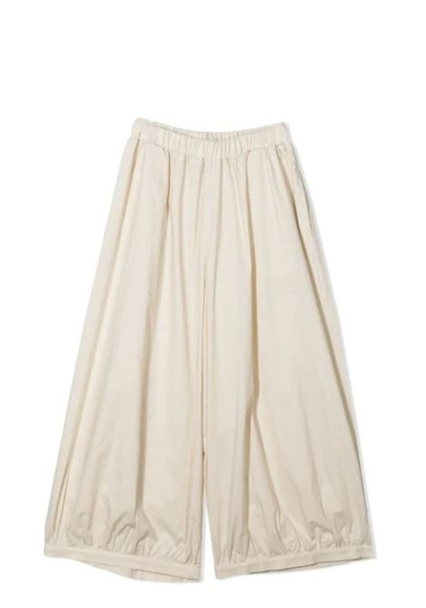 WIDE LEG PANTS MIMISOL | Trousers | MFPA054 TS0436BGE