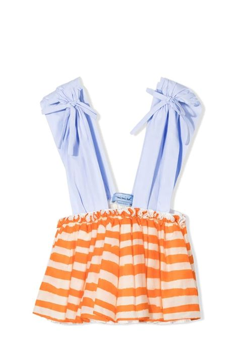 Little girl dungaree dress MIMISOL | MFTP040 TS0421MLT