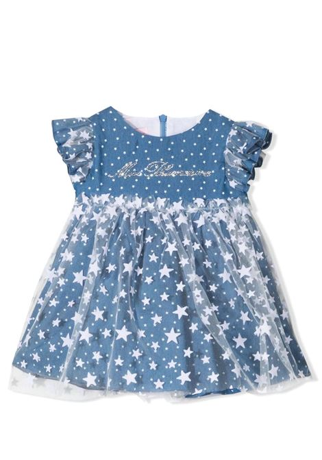 DRESS WITH TULLE MISS BLUMARINE KIDS | Dress | MBL330306