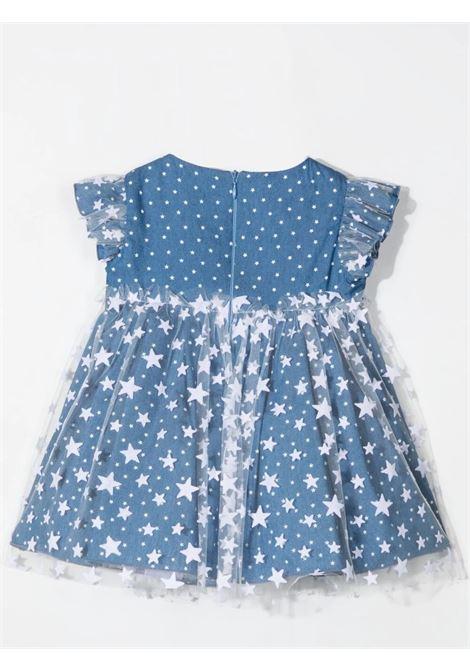DRESS WITH TULLE MISS BLUMARINE KIDS | MBL330306