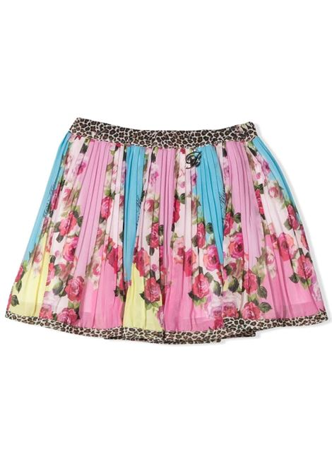PLEATED PATTERN SKIRT MISS BLUMARINE KIDS | Skirt | MBL3704VV