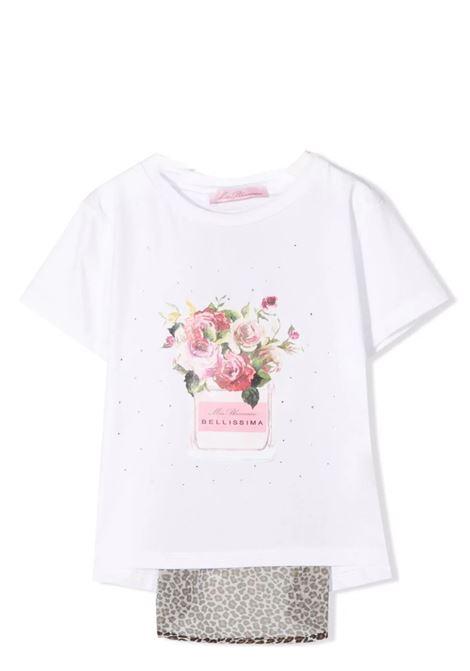 T-shirt girl with print MISS BLUMARINE KIDS | MBL370701